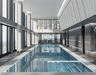 RCH Design Gym & Pool visualisation
