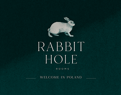 Rabbit Hole Hotel Branding