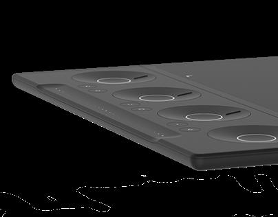 kontrol - editing tablet