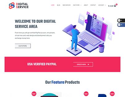 Service Providing website