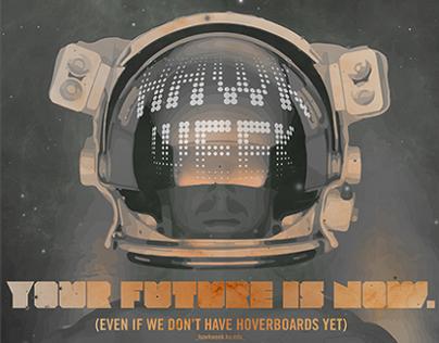 University of Kansas: Hawk Week 2013 Poster