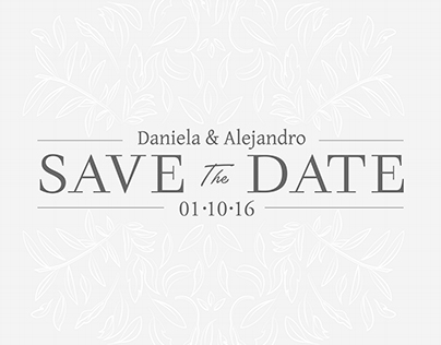 Save the Date D&A