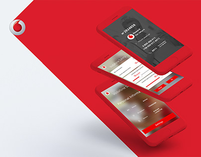 Mobile app and landing page design