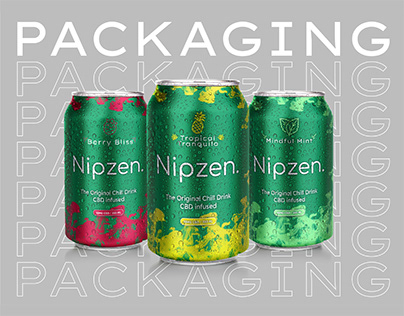 Nipzen - Packaging Chill Drink