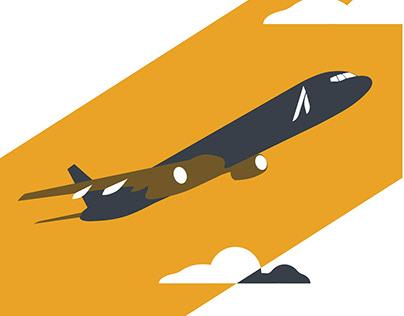 Luxury Airline Branding