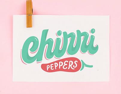 Chirri Peppers Logo redesign