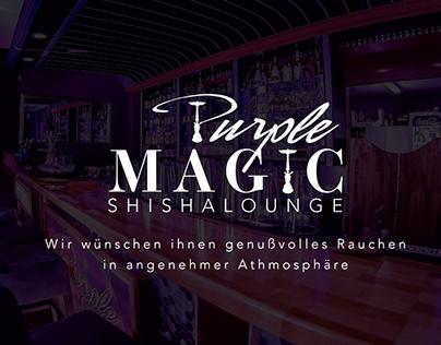 Purple Magic Shishalounge Branding
