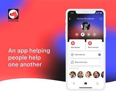 Let Me Help App