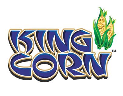 King Corn Packaging Visual Display Design