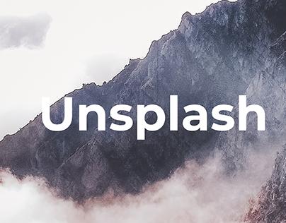 Unsplash - Redesign (Minimal Concept)