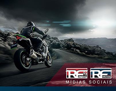 Mídias Sociais - RF Motos e RF Parts