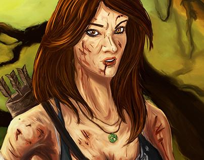 Survivor | Lara Croft fanart