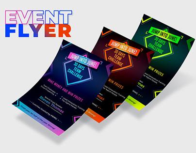 Event Flyer Design Concept