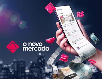 O Novo Mercado - Lançamento de App