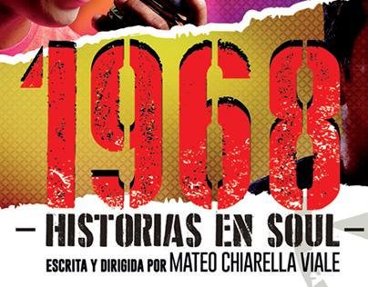 1968: HISTORIAS EN SOUL AFICHE