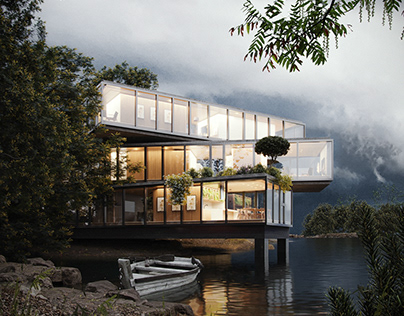 LAKE HOUSE - CGI
