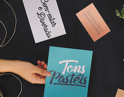 Naming e Brand - Tons Pastéis