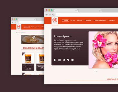 Web Design Online Shop for OpenCart