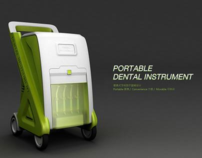Portable Dental Instrument