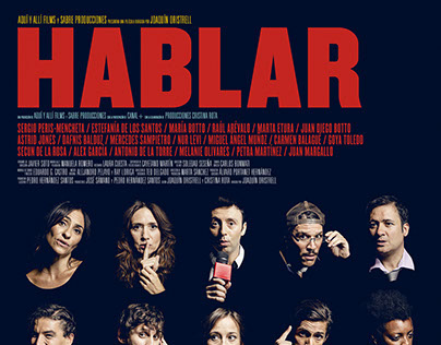 """HABLAR"" movie poster"