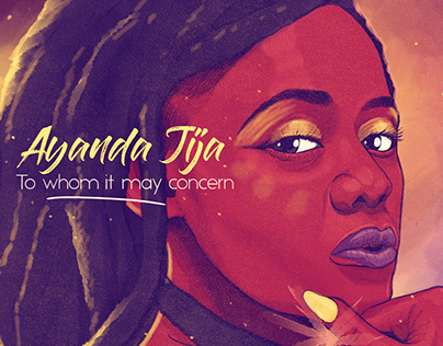 Ayanda Jiya - To Whom It May Concern. EP Artwork