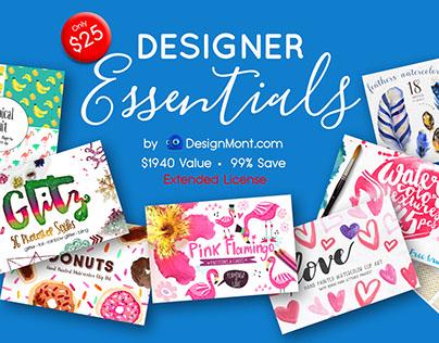 Designer Essentials Bundle + Extended License (99% Off)