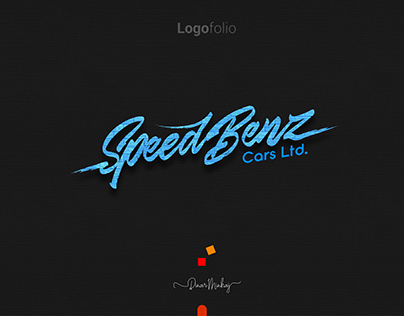 SpeedBenz Typography Logo