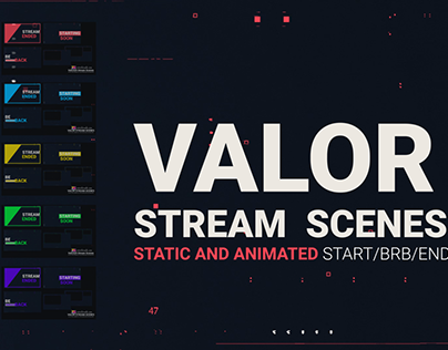 STREAM PACK INSPIRED BY GAME VALORANT