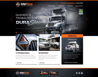 Interforce Website - International Trucks