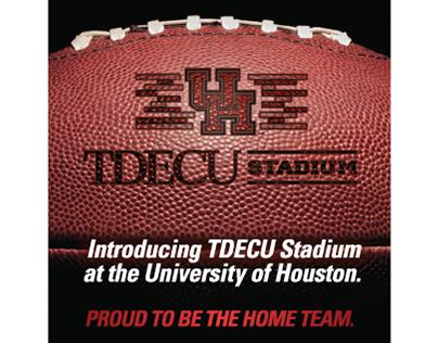 University of Houston Football Gameday materials