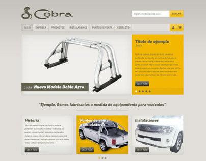 Cobra | Sitio web