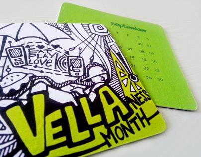 MIT ID Coaster Calendar 2012
