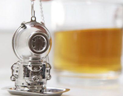 Jacques the diver + Tea Infuser