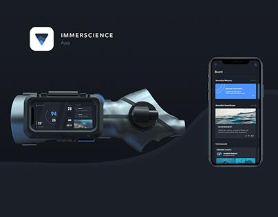 IMMERSCIENCE_app / UX&UI