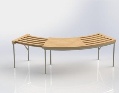 Revolve Bench