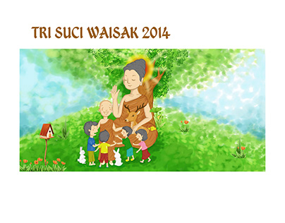 Tri Suci Waisak Anak 2014
