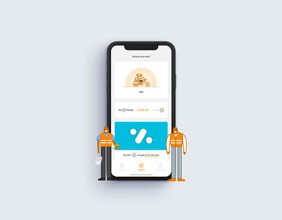 SafeBoda App re-style
