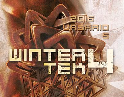WINTERTEK4 Flyer and poster design