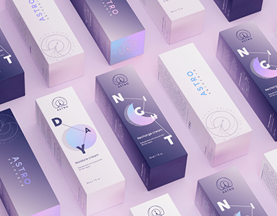 ASTRO – skincare (Logo/Packaging)