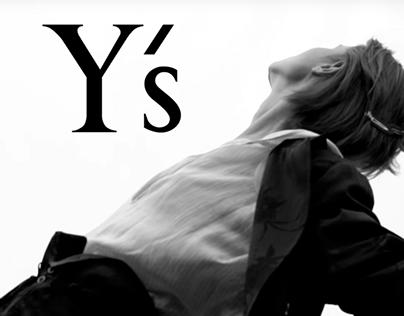 Y'S S/S 2018 Campaign