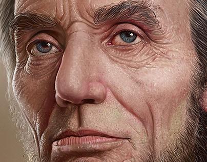 Abraham lincoln - Digital painting