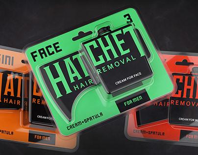 Hatchet. Hair removal cream for men