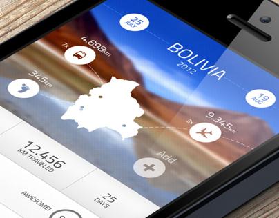 Travel Log App