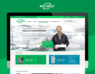 BIO-CIRCLE B2B Onlineshop