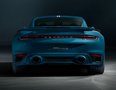 // Porsche 992 Turbo S - China 20Y Edition - Full CGI