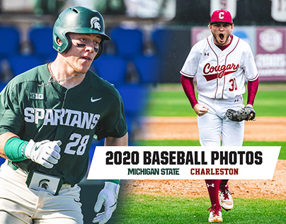 Charleston & Michigan State Baseball | 2020 Photos