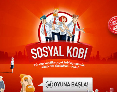 Akbank Sosyal Kobi // Game Art & Animations