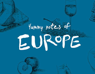 Yummy notes of Europe