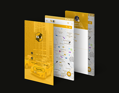 On Demand Taxi Mobile App Design