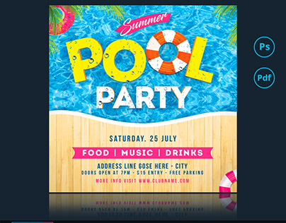 Summer Party Flyer/ Banner